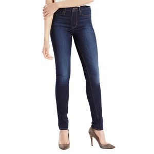 Levi's Dark Blue Slimming Skinny Jeans